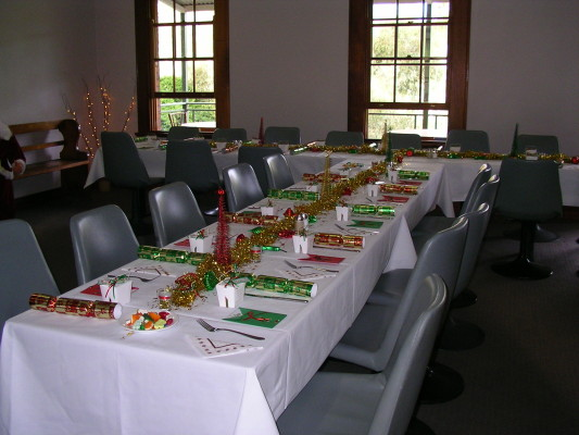 Function room at the Walcha Road Hotel
