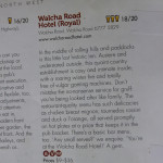 SMH Good Pub Food Guide article on Walcha Road Hotel